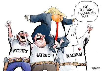 Will it help Trump get reelected when he states daily that police brutality is acceptable?