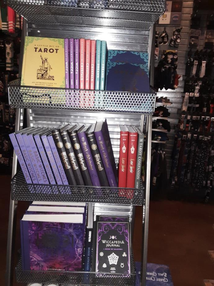 What's your thoughts on Spencer's sell sex toys and books on witchcraft?