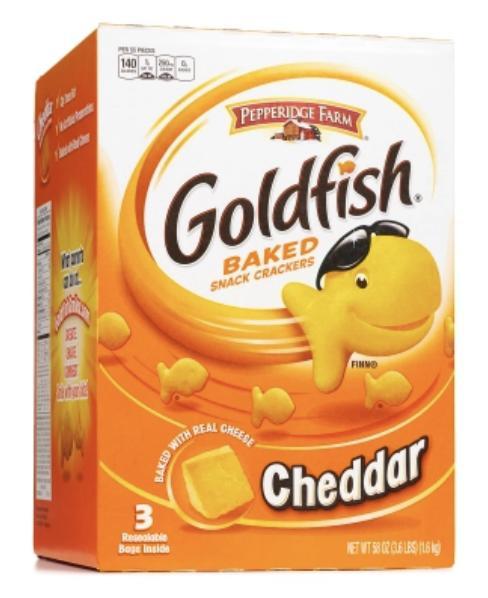 CHEEZ*IT  VS  Goldfish?