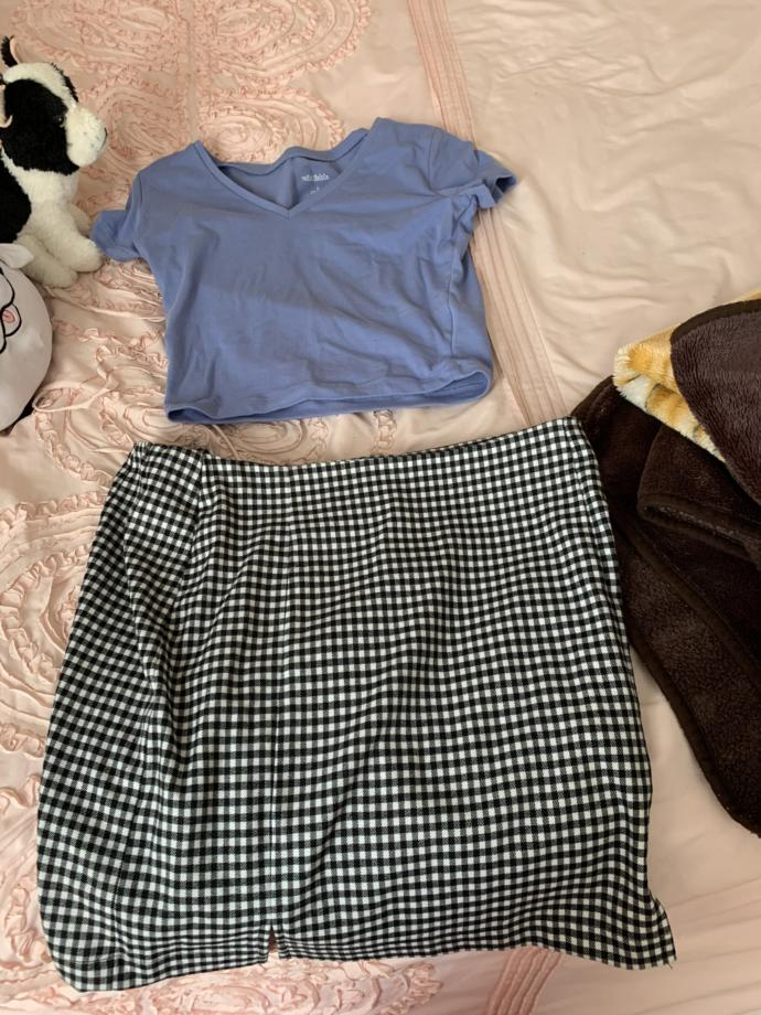 Does this shirt and skirt go together?