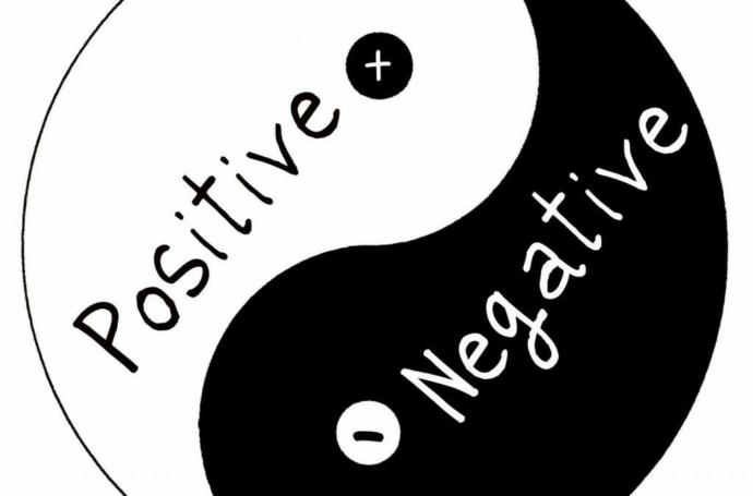 Does something positive always come out of something negative?