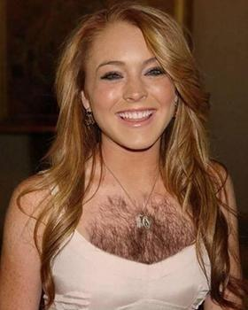 Do hairy chests on women turn you on?