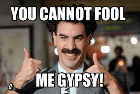 Have you ever met a Gypsy? Why are they so creepy?