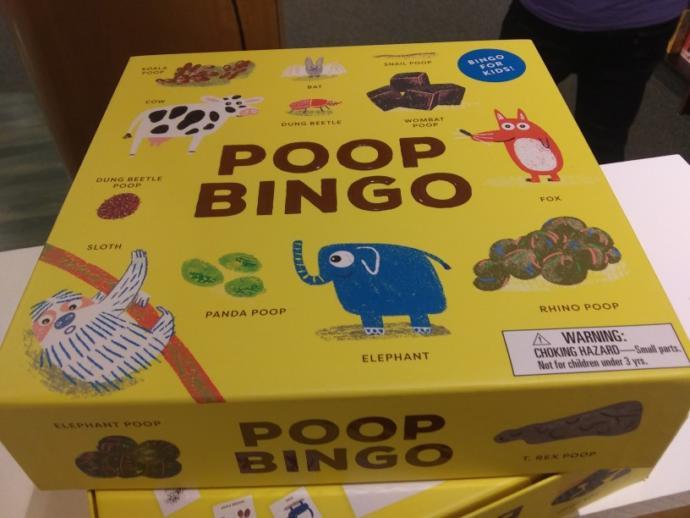 Would you play poop bingo?