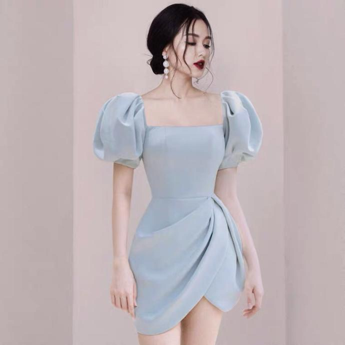 Which dress is suitable for a wedding reception?