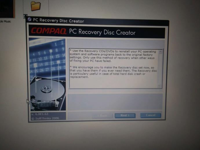For all tech people how can I make another set of recovery disks for this laptop?