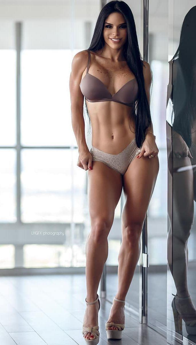 A toned body is seen as ideal by many men in the West/USA