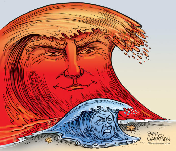Are you expecting a Trump Red Wave landslide win this November election?