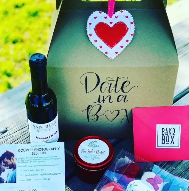 What do you think of a date in a box?