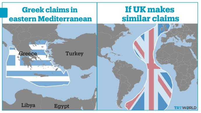 What is your opinion about the tension between Turkey and Greece in Mediterranean Sea?