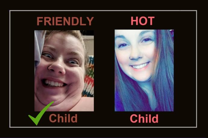 Which Would You Rather Have, a FRIENDLY Child or a HOT Child?