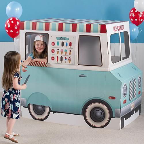 When you were young, did you have an ice cream man? do you still have one?