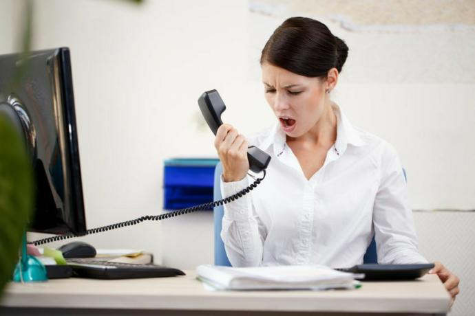 Has a customer service representative ever hung up on you?