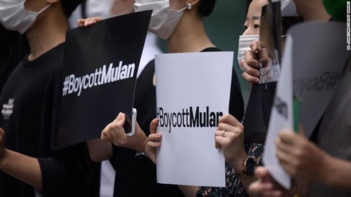 Whats your opinion on people #boycottmulan?