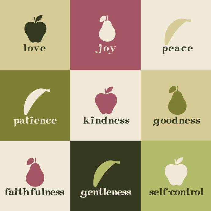 Which of the 9 fruits of the Spirit do you possess the most?
