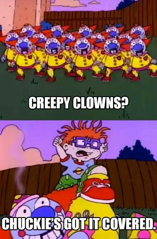 Anyone afraid of clowns or know someone that is?