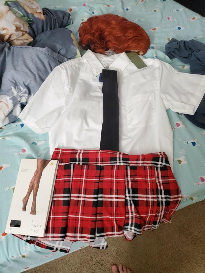 Do you like My schoolgirl uniform?