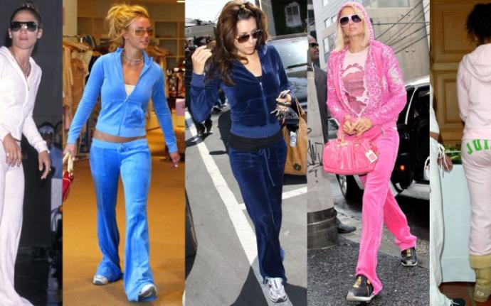 Looking back, what year or time in your life did you dress the least fashionable?