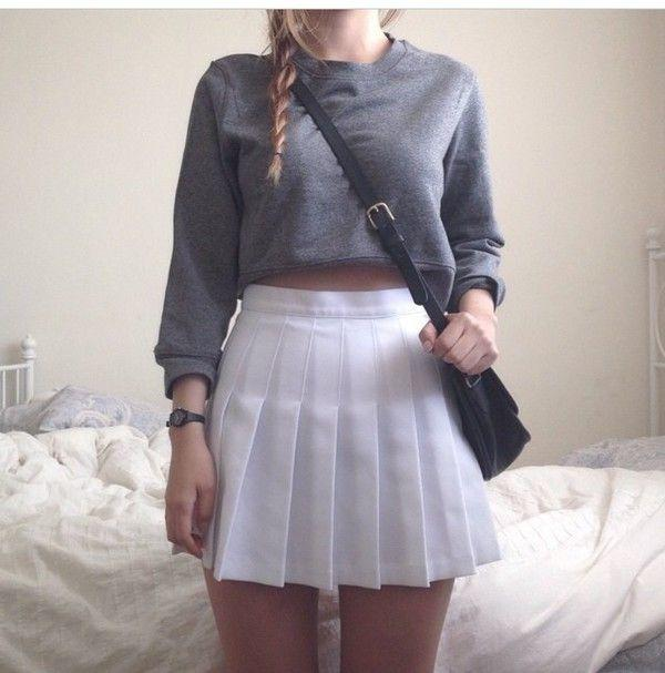 What do guys think of pleated skirts like this?