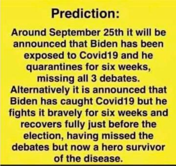 How about this Biden prediction?