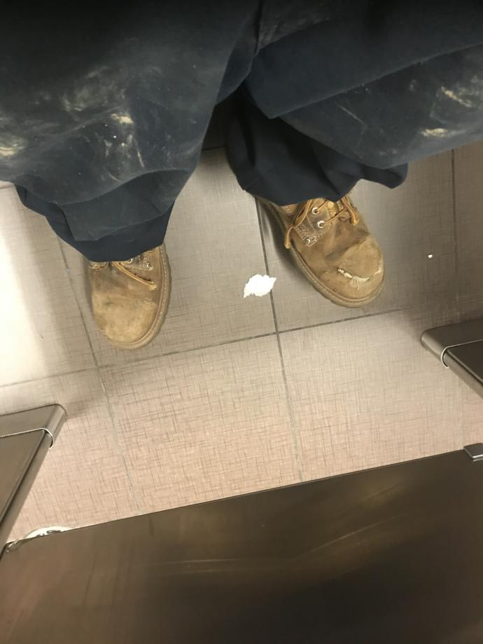 What do you think do you think when taking a shit?