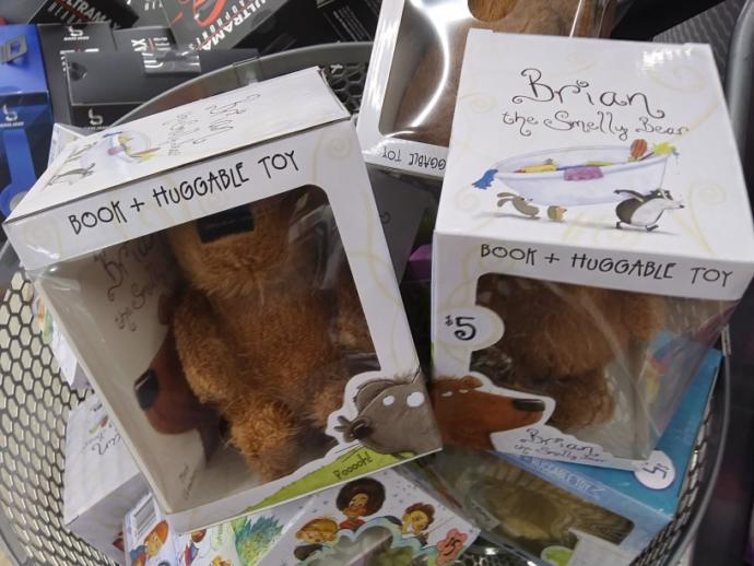 What do you think of girls fart and brian the smelly bear boxes?