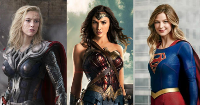 Is portraying women as superheroes in cinema influenced by Hollywoods feminist elite to portray women as superior to men?