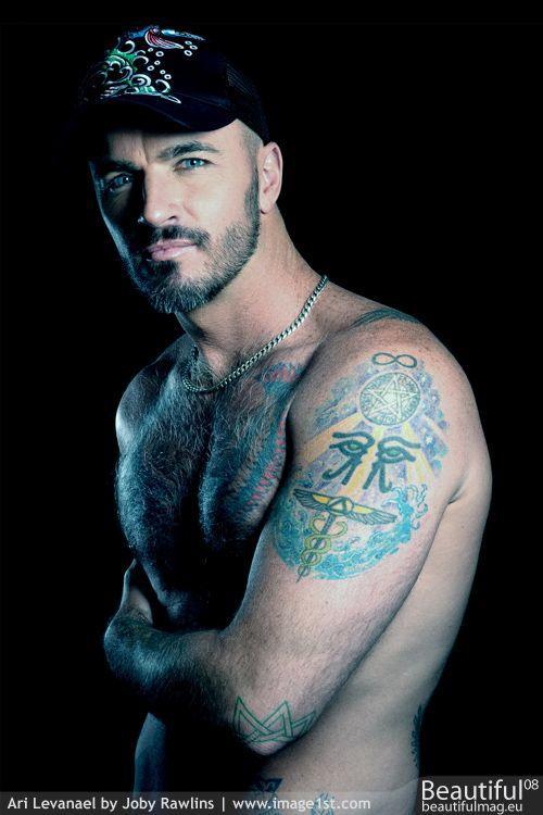 Handsome, masculine man.