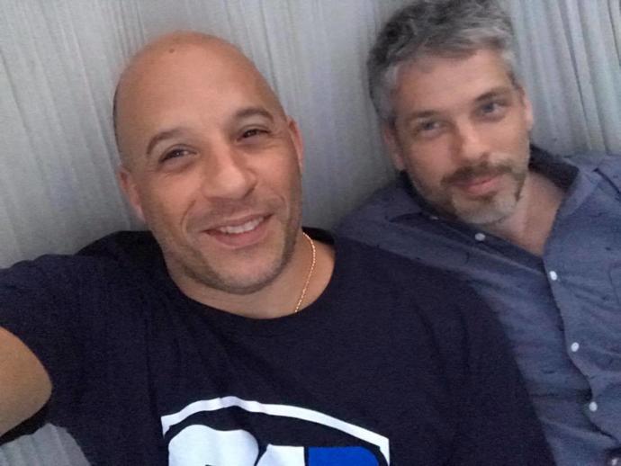 Vin and Paul Diesel