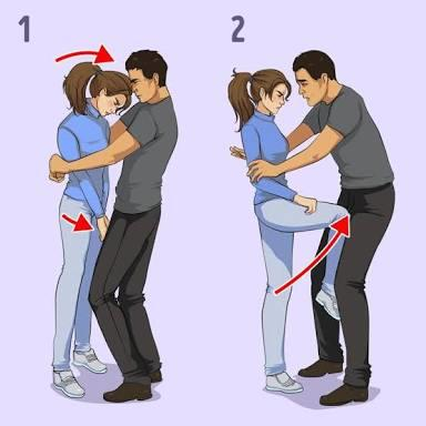 Girls, Which move is more effective, picture 1 or picture 2?