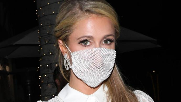 Have you seen anyone wearing a mesh mask?