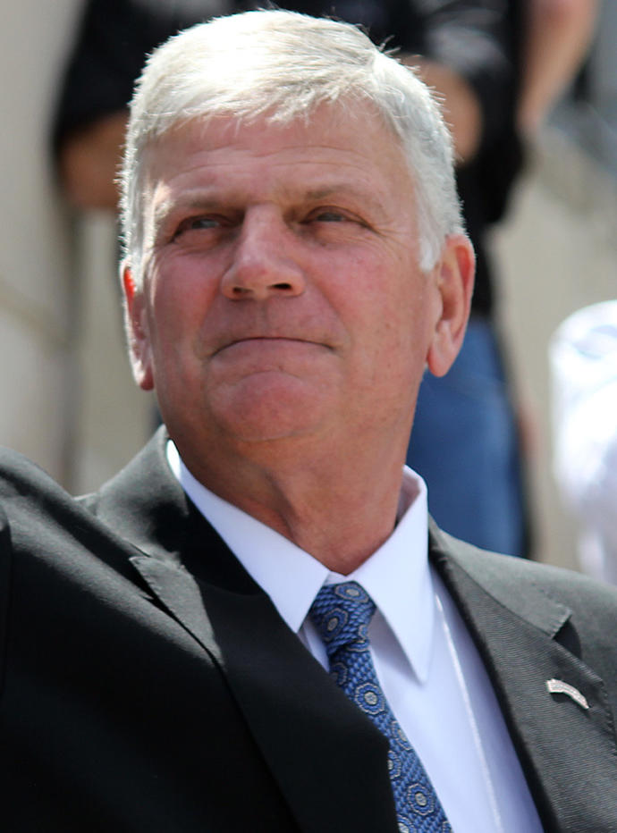 Do you think Franklin Graham will make as big of a spiritual impact on winning souls to Christ as his father, Billy Graham, did?
