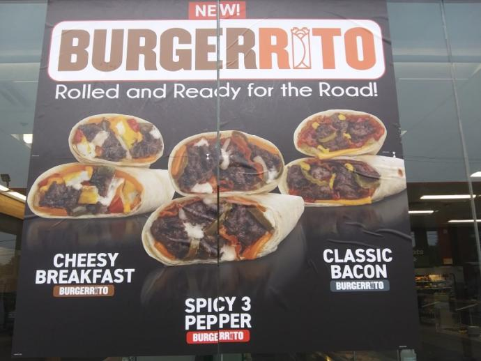 What do you think of Thorntons new burgerrito?