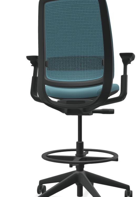 Which one looks better black mesh or same color mesh on this chair?