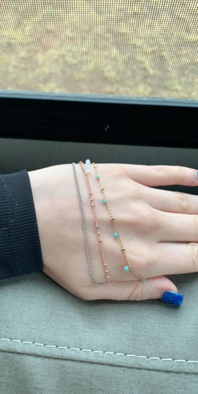 Which color of jewelry looks nicest against my skin tone?