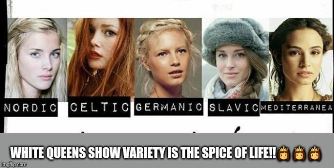 Why are White Women held up as the standard of beauty by society?