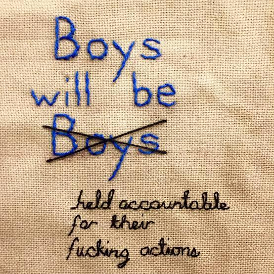 Boys will be boys and they commit mistakes... do you agree with this?