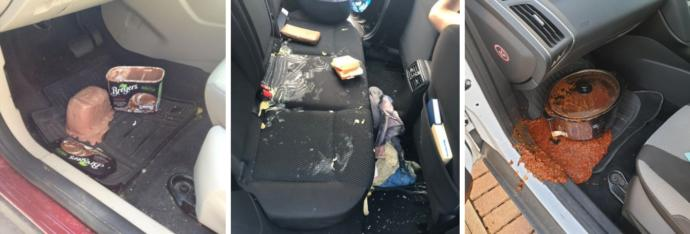 Whats the messiest thing youve ever spilled in a car?