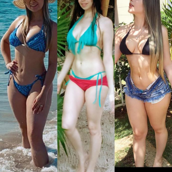 Guys, Guys which bikini body do you find hottest?