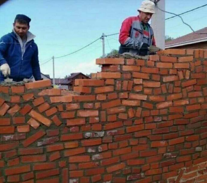 Have you ever built a wall, why?