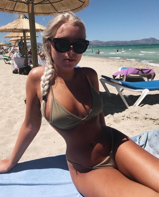 Can I post photos of myself in a bikini?