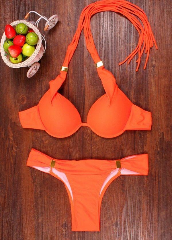 Have you ever heard of a padded bikini top?