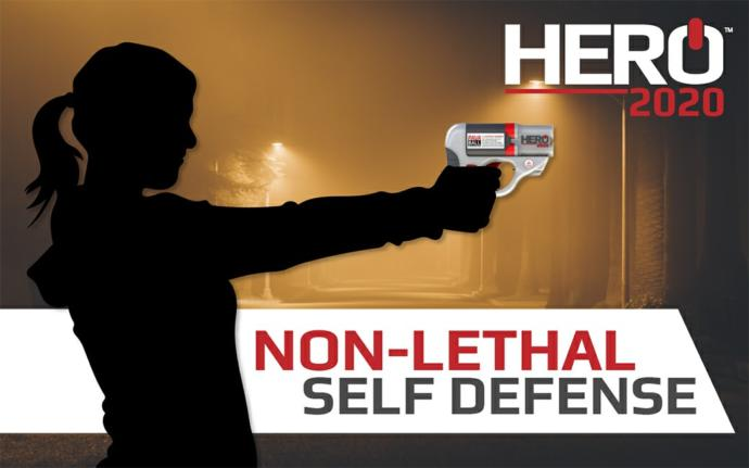 What do you think of this new non-lethal defense gun?