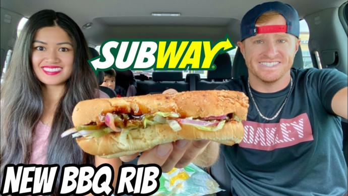 Have you ever heard of the bbq rib sub from subway?