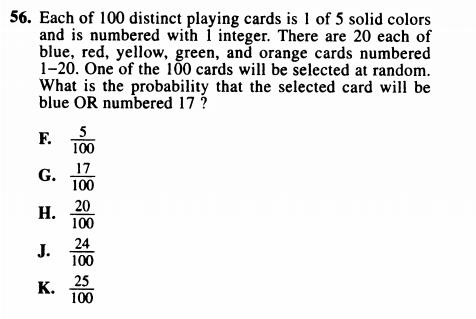 MATH HELP: Why is the answer 24, and not 25?