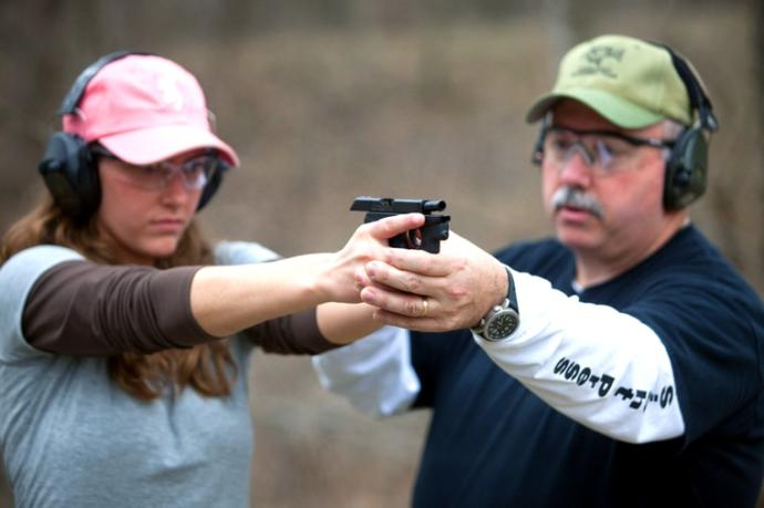 With a teacher, you *can* learn how to safely use a firearm, even for fun!