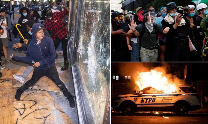 What do you think about Trumps plan to fine everyone seen at BLM protests?