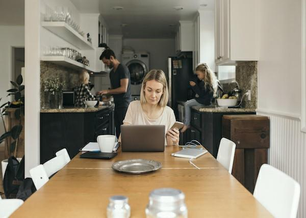 How do you separate your work life from your home life?