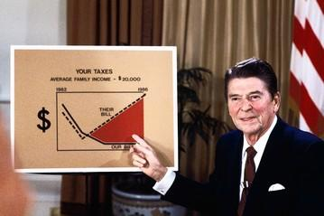 For those of you who legitimately understand some economics, and taxes please explain why Reaganomics works or doesnt work as a economic policy?