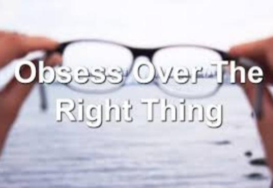 What If Anything Do You Over Obsess Or Over Stress About?